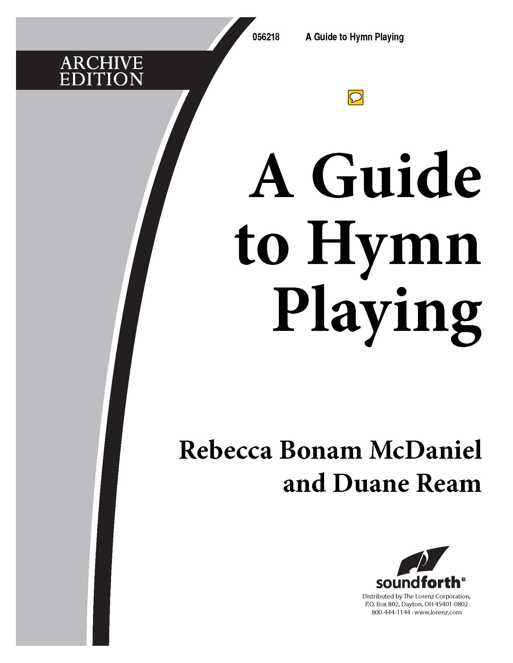 A Guide to Hymn Playing