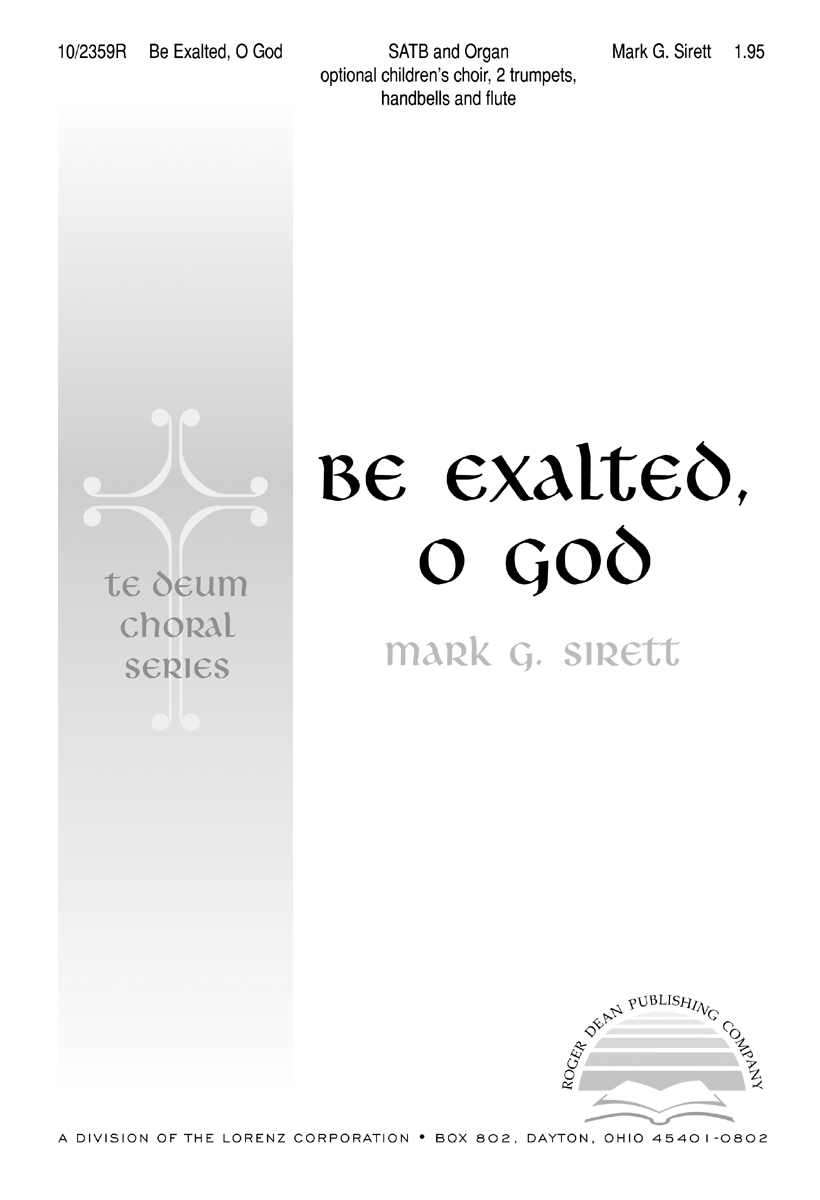 Be Exalted, O God