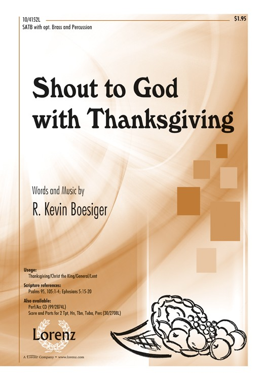 Shout to God with Thanksgiving