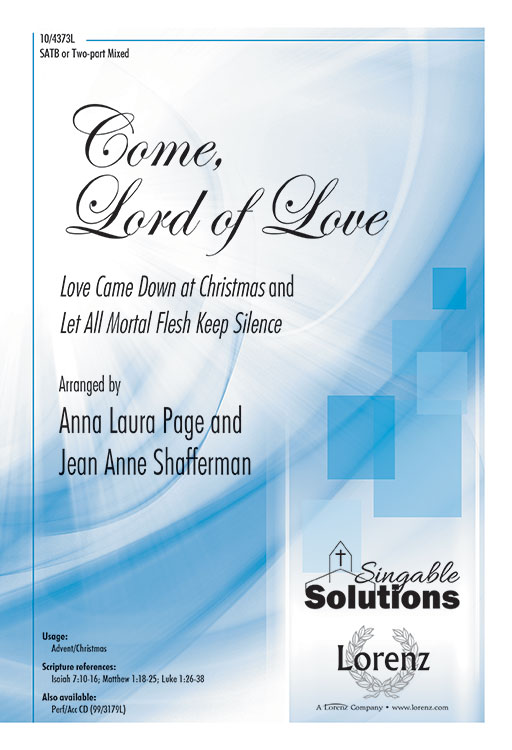 Come, Lord of Love