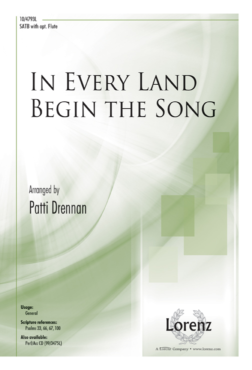 In Every Land Begin the Song