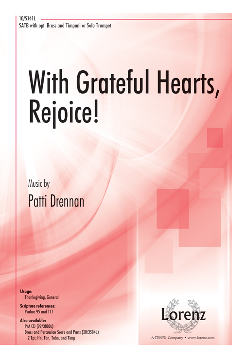 With Grateful Hearts, Rejoice!