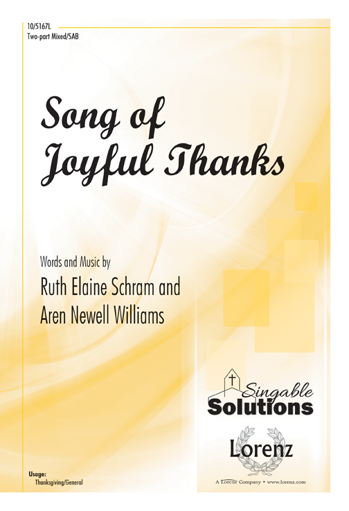 Song of Joyful Thanks