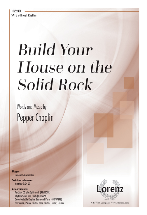 Build Your House on the Solid Rock