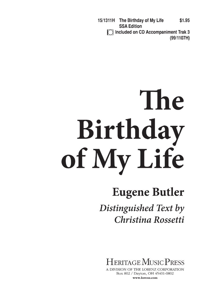 The Birthday of My Life