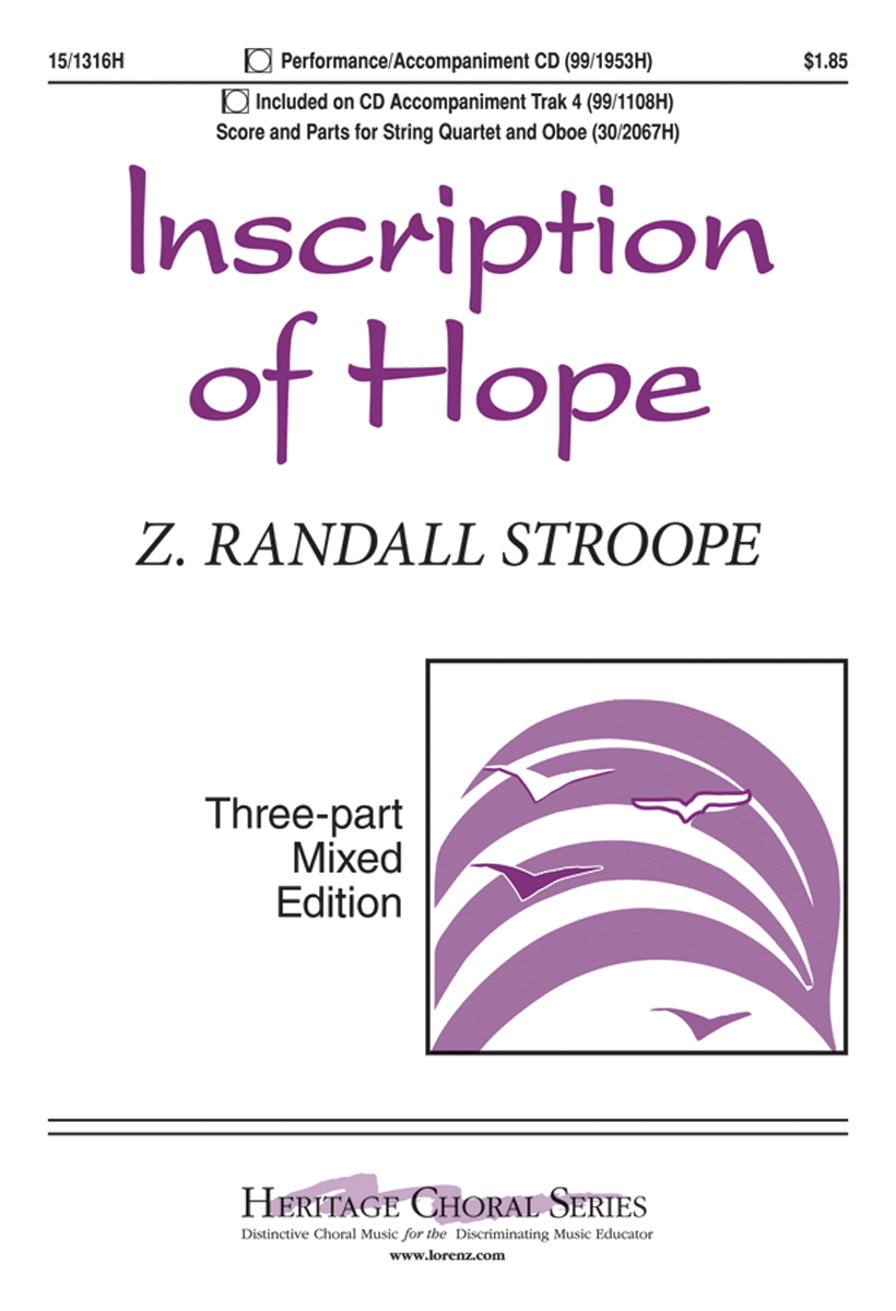 Inscription of Hope