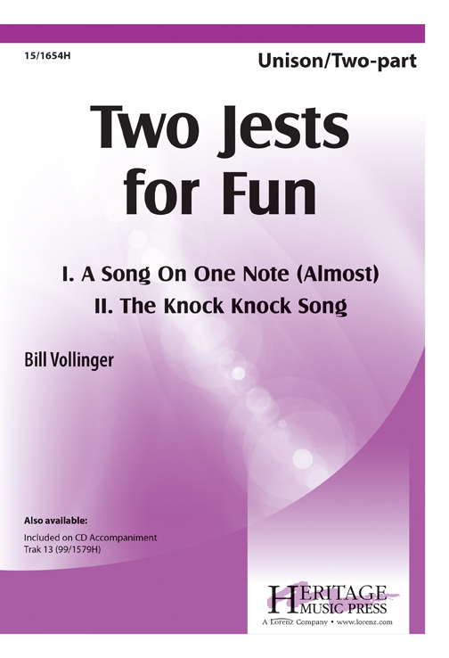 Two Jests for Fun