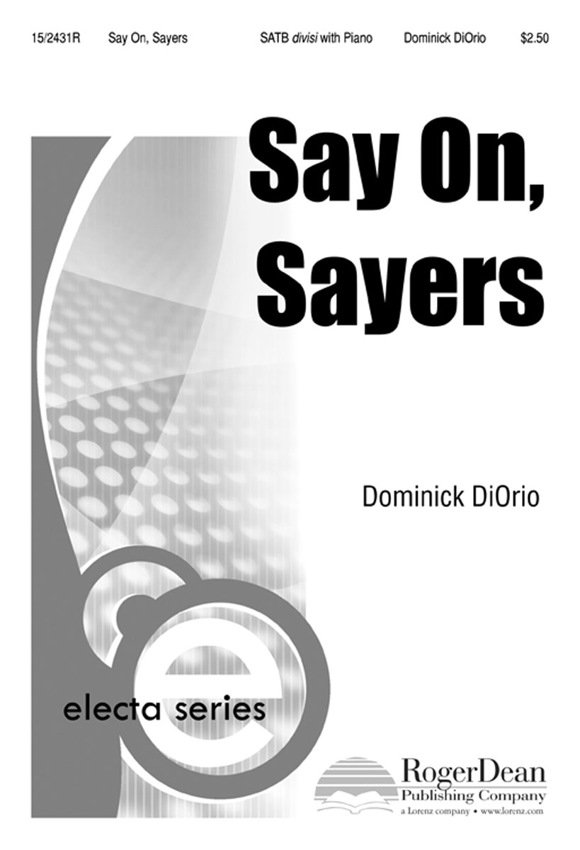 Say On, Sayers