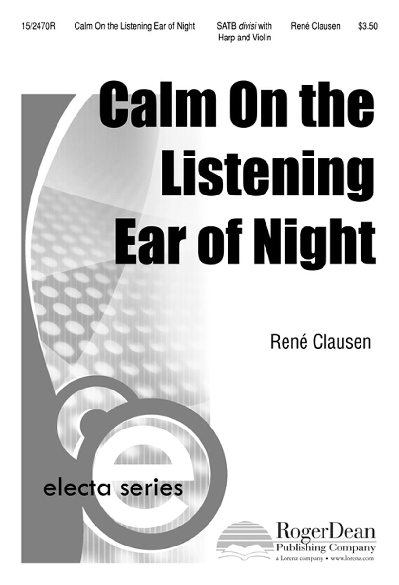 Calm, On the Listening Ear of Night