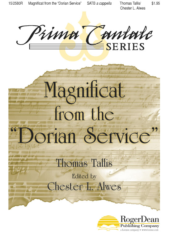 "Magnificat from the ""Dorian Service"""