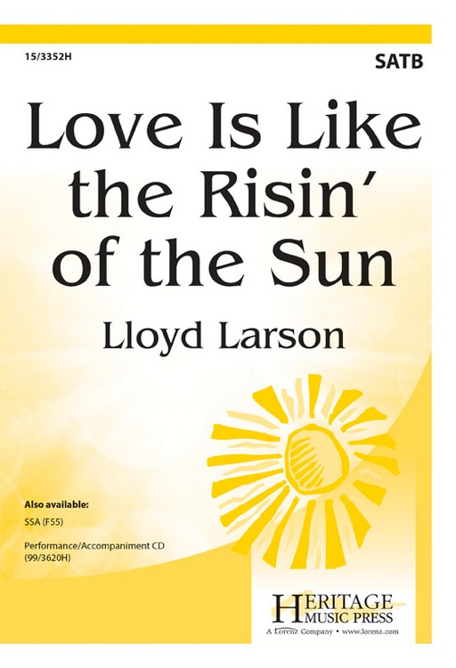 Love Is Like the Risin' of the Sun