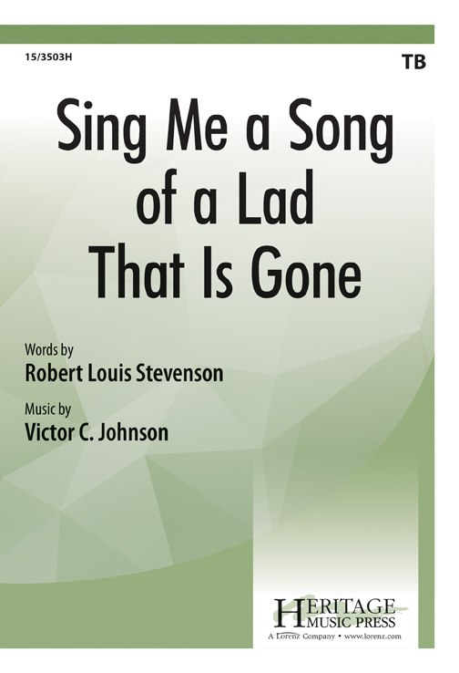 Sing Me a Song of a Lad That Is Gone
