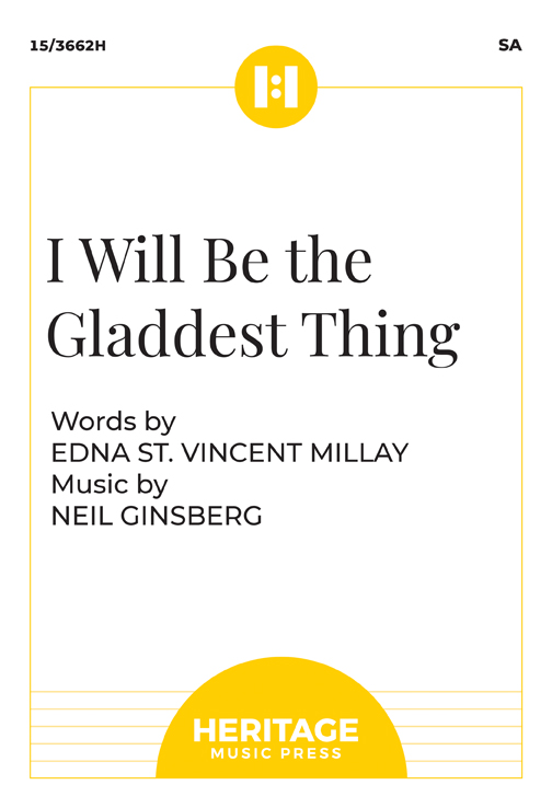 I Will Be the Gladdest Thing