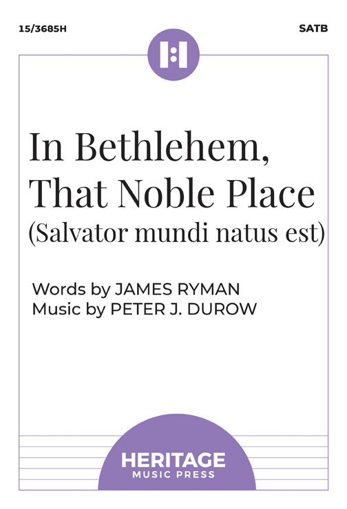 In Bethlehem, That Noble Place