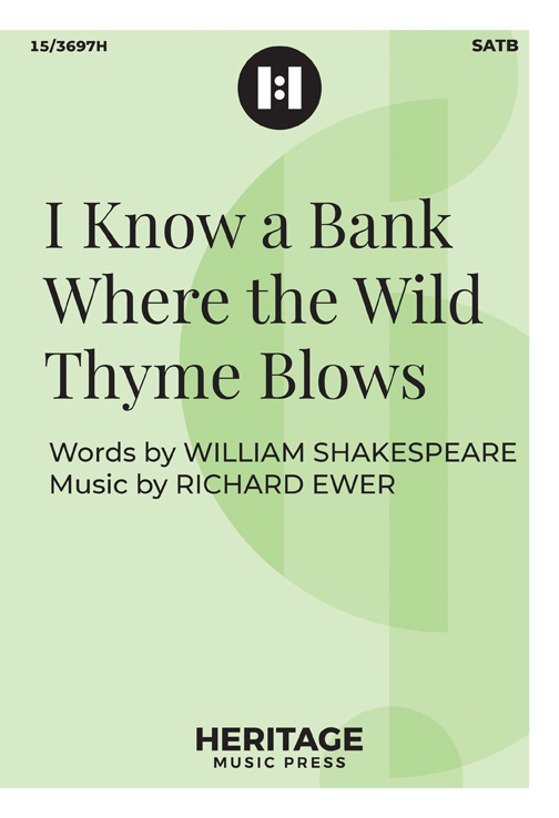 I Know a Bank Where the Wild Thyme Blows