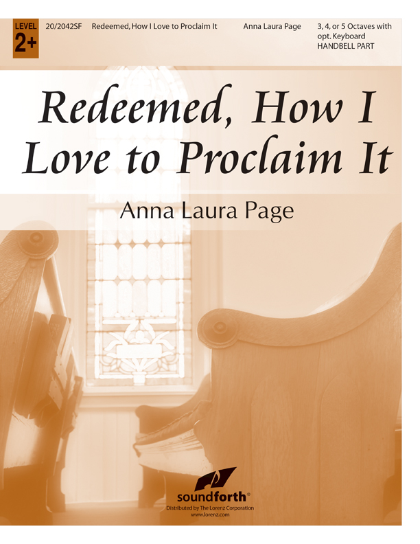 Redeemed, How I Love to Proclaim It - Handbell Part