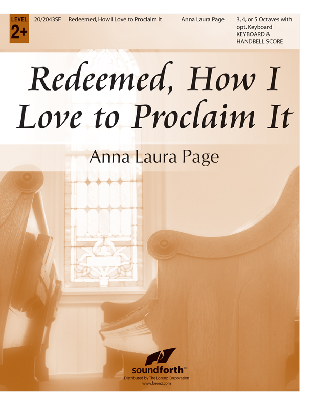 Redeemed, How I Love to Proclaim It - Keyboard and Handbell Score