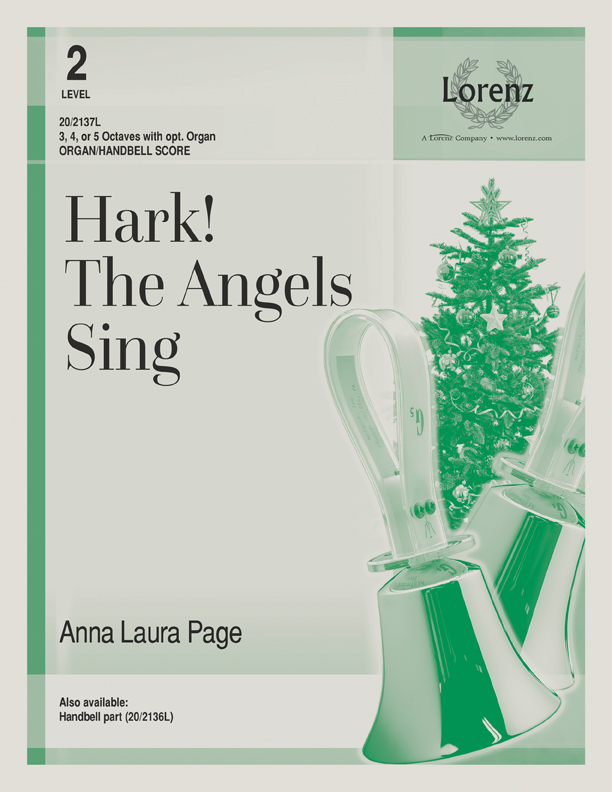 Hark! The Angels Sing - Organ & Handbell Score