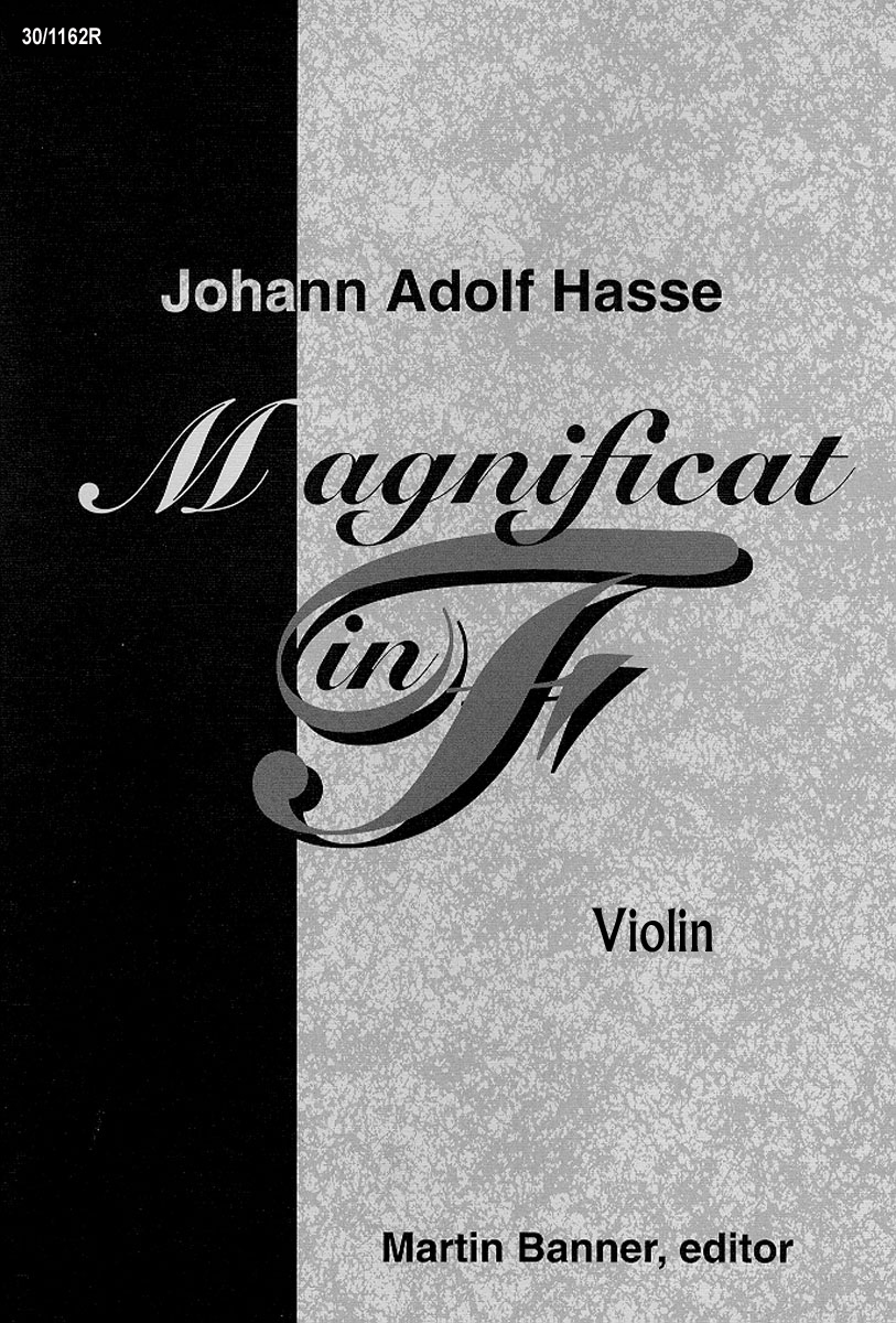 Magnificat in F - Violin