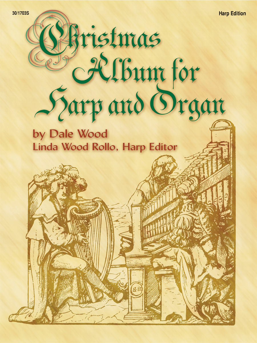 Christmas Album for Harp and Organ - Harp Part