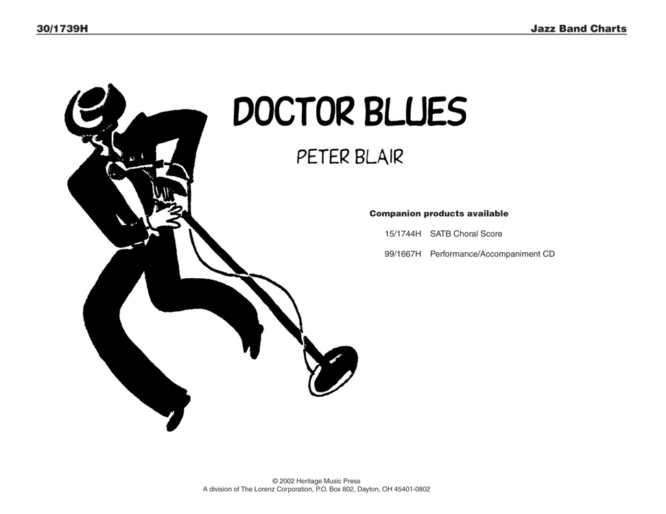 Doctor Blues - Instrumental Score and Parts
