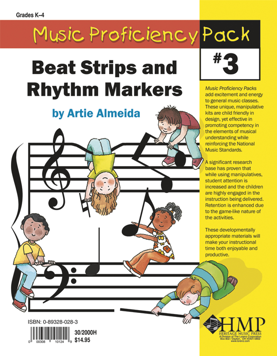 Music Proficiency Pack #3 - Beat Strips and Rhythm Markers