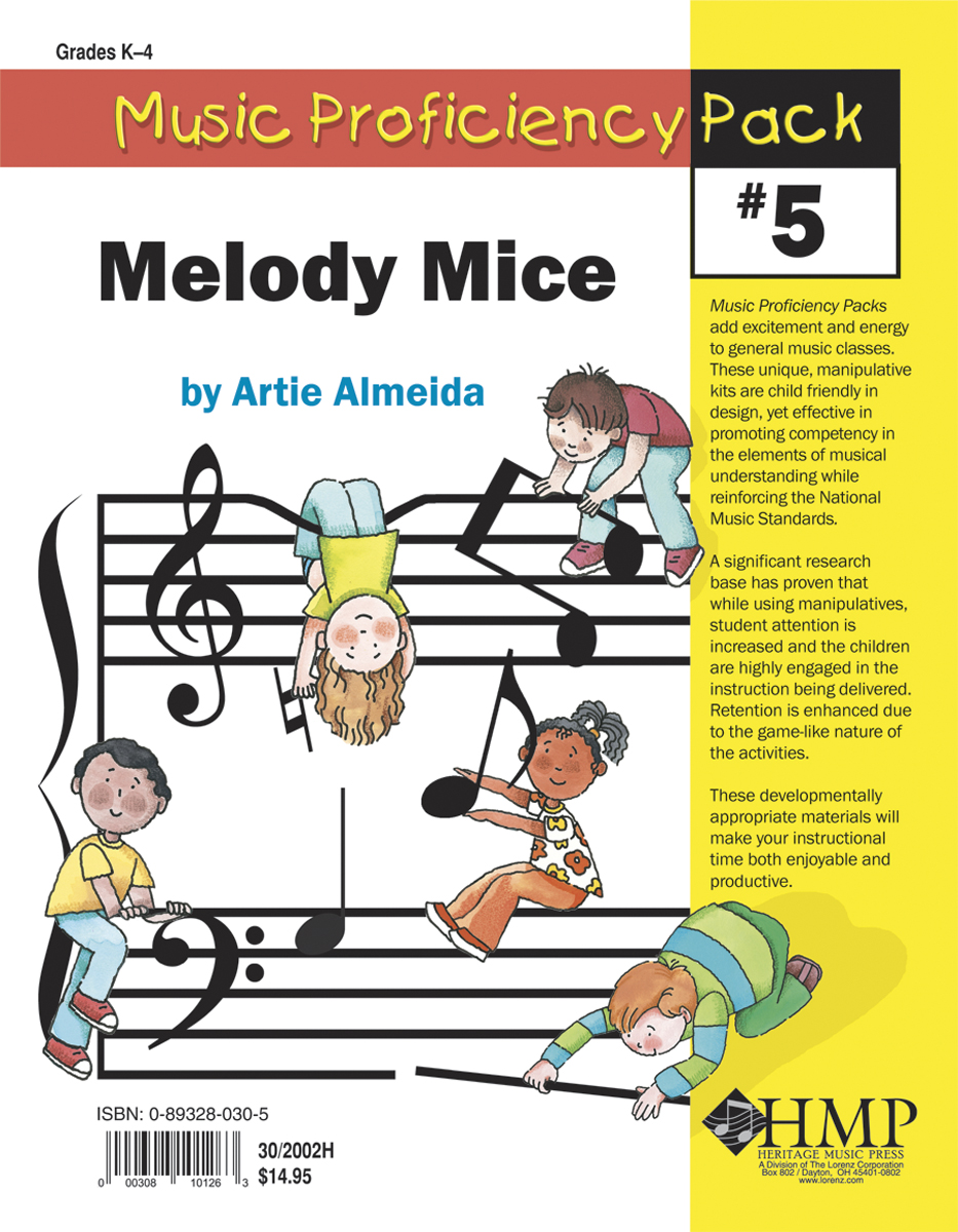 Music Proficiency Pack #5 - Melody Mice