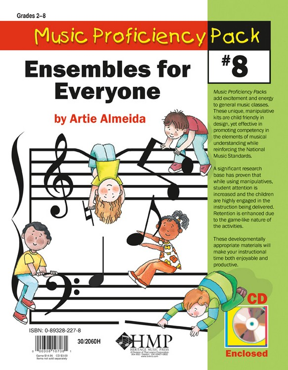 Music Proficiency Pack #8 - Ensembles for Everyone