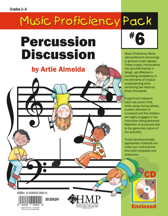 Music Proficiency Pack #6 - Percussion Discussion
