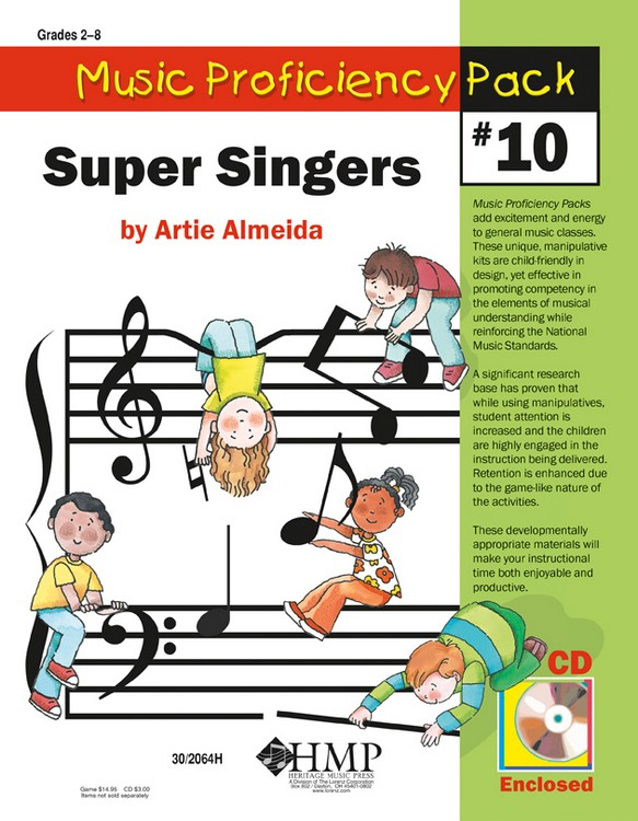 Music Proficiency Pack #10 - Super Singers