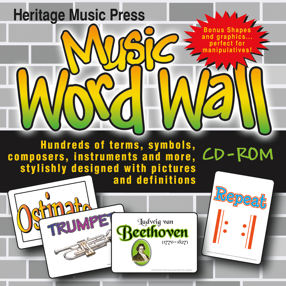 Music Word Wall CD