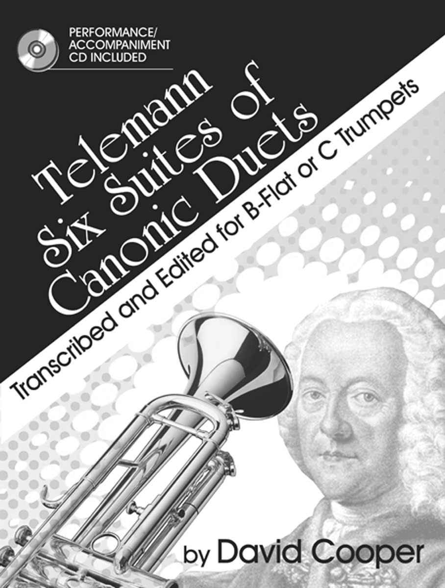Telemann Six Suites of Canonic Duets