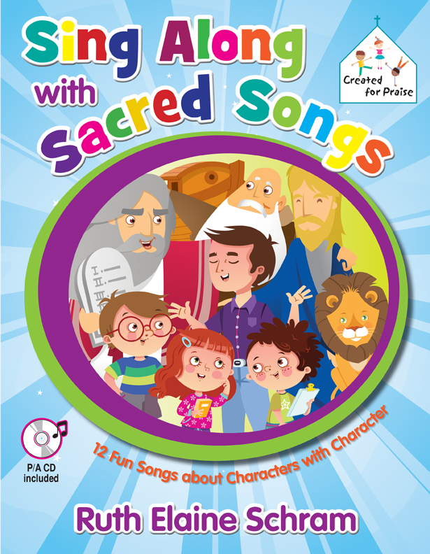 Sing Along with Sacred Songs - Songbook with P/A CD