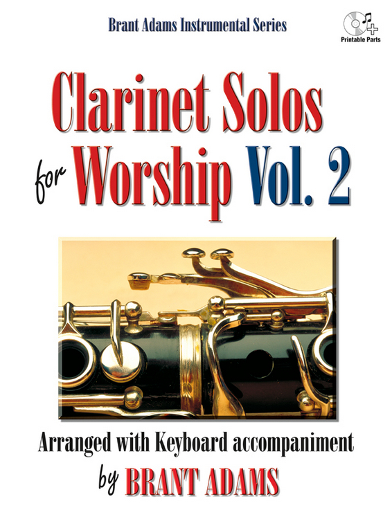 Clarinet Solos for Worship, Vol. 2