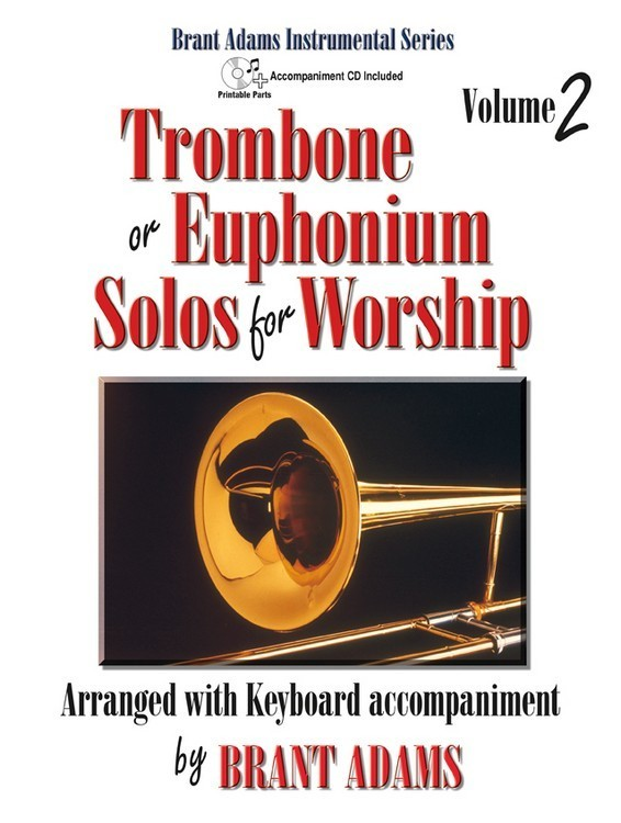 Trombone or Euphonium Solos for Worship, Vol. 2