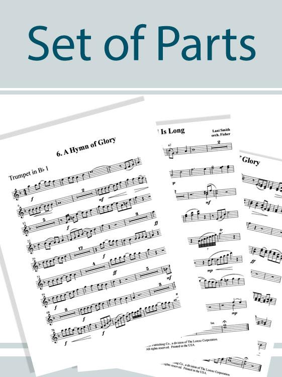 International Carol Suites: Carols of Europe - Set of Parts