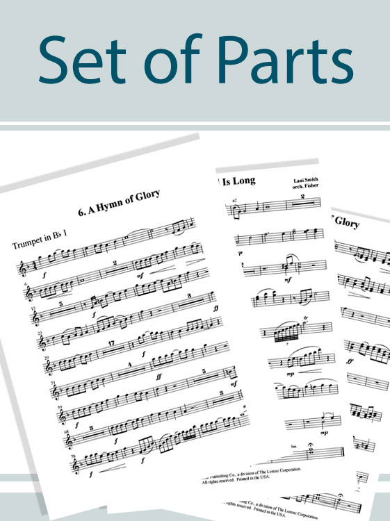 Christ the Lord Is Risen Today - Brass Quintet Score and Parts