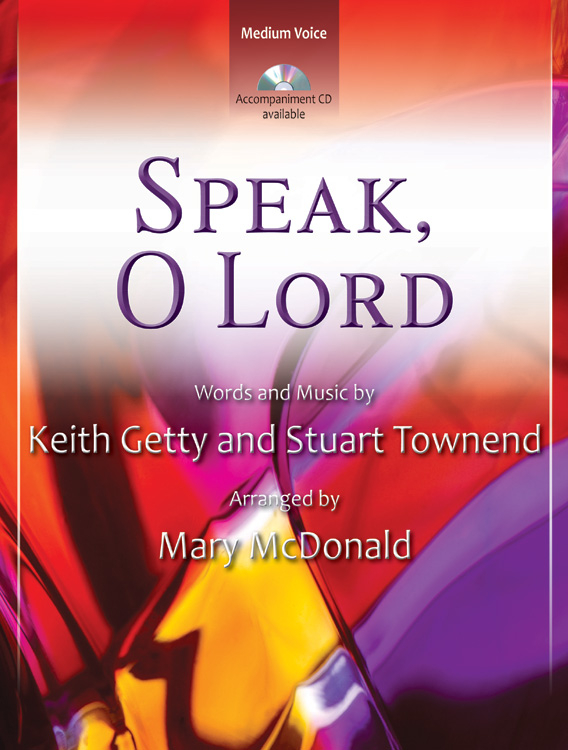 Speak, O Lord - Vocal Solo Digital Delivery