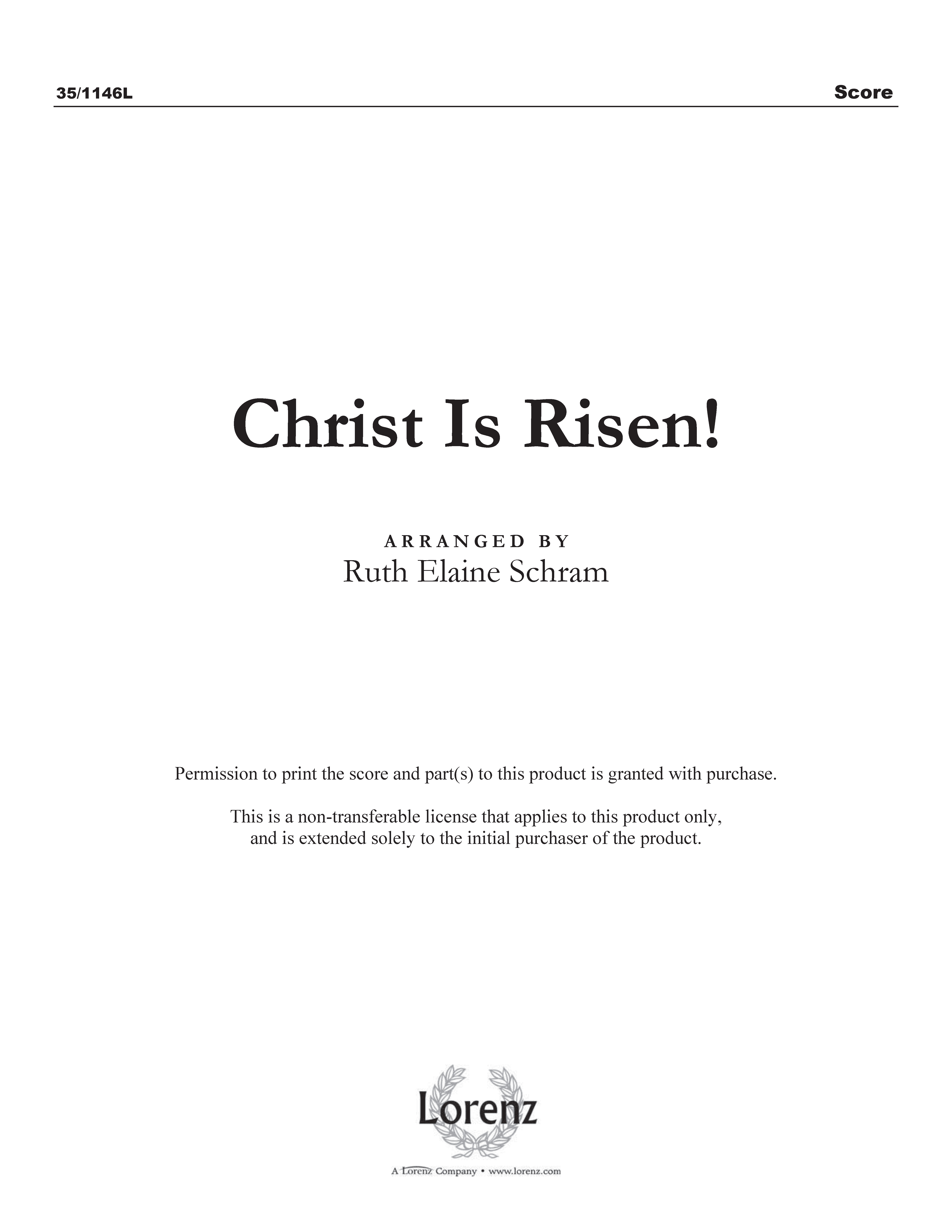 Christ Is Risen! (Digital Delivery)