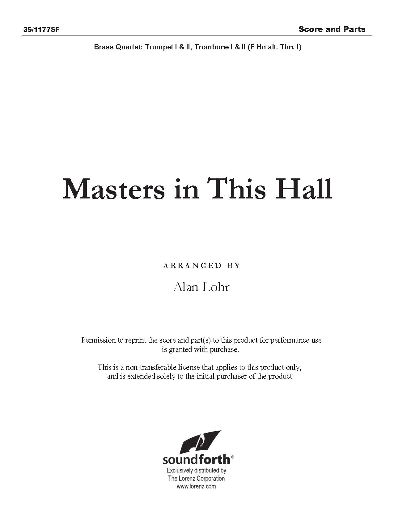 Masters in This Hall - Digital Delivery