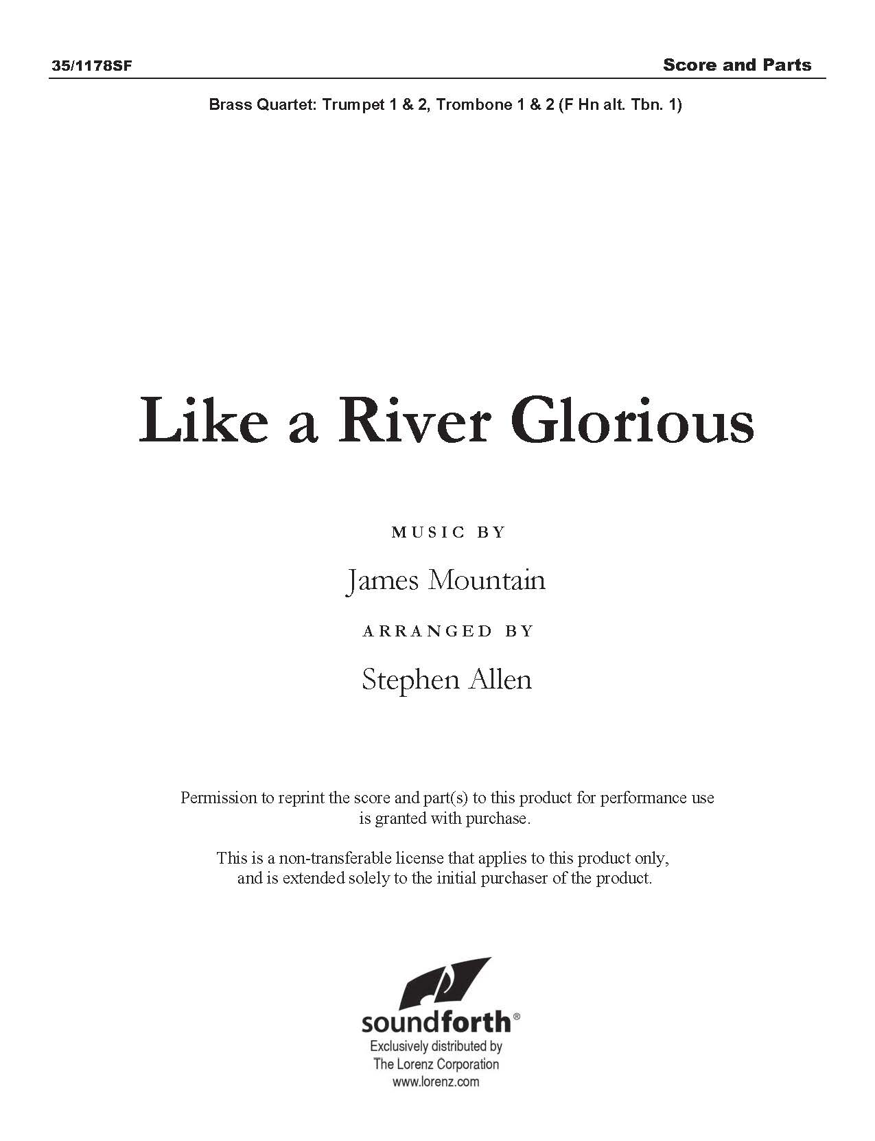 Like a River Glorious - Digital Delivery