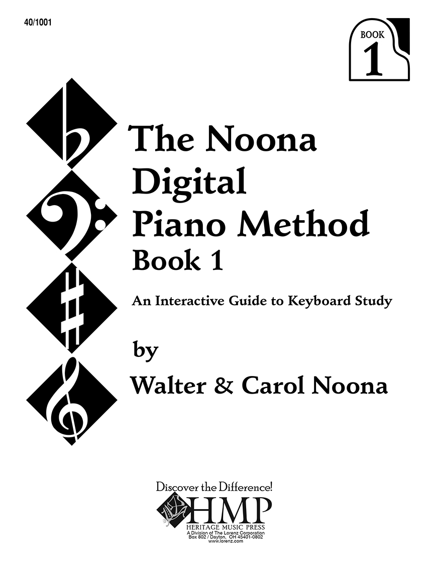 Noona Digital Piano Method Book 1
