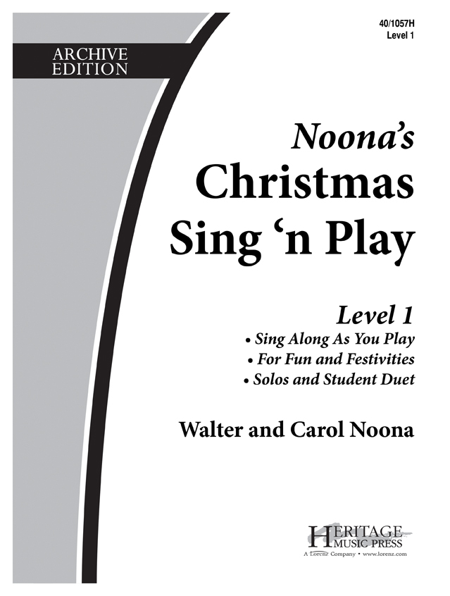 Christmas Sing 'n Play - Level 1