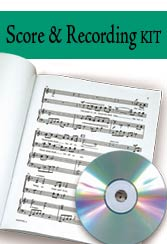 Gloria - Perf CD/SATB Score Combination