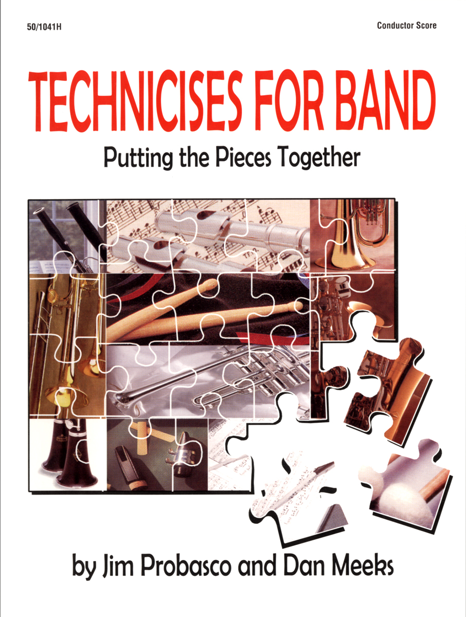 Technicises For Band Conductor's Score
