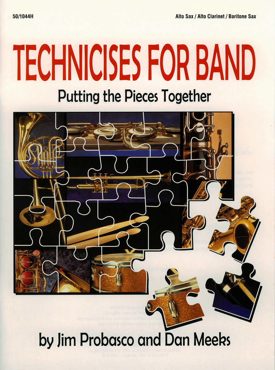 Technicises For Band Alto Sax/Alto Clar/Bari Sax