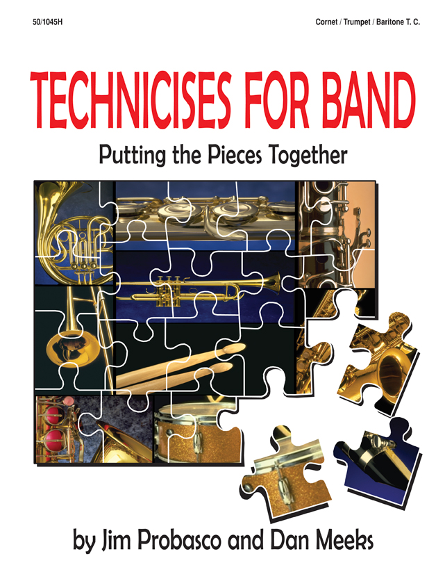 Technicises For Band Cornet/Trumpet/Bari TC