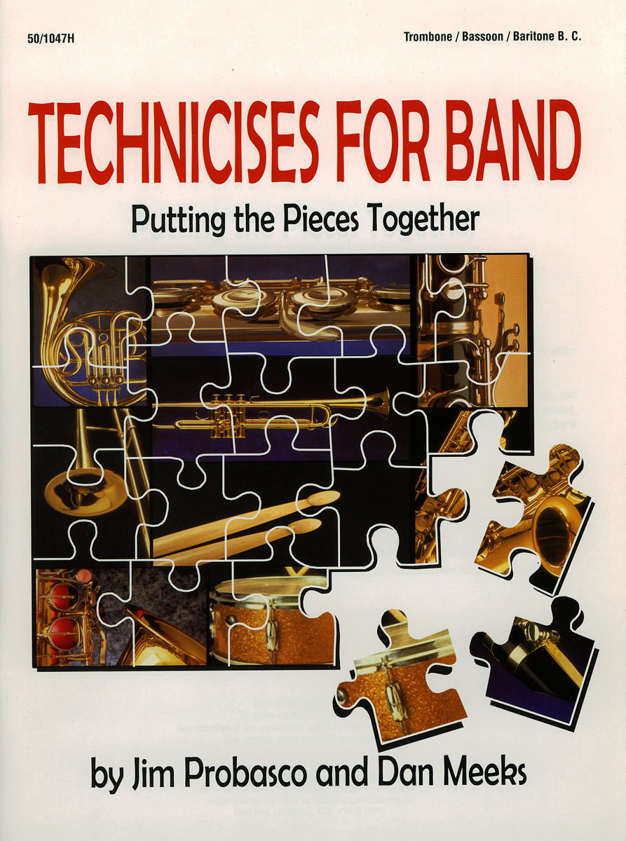 Technicises For Band Trombone/Bassoon/Bari BC