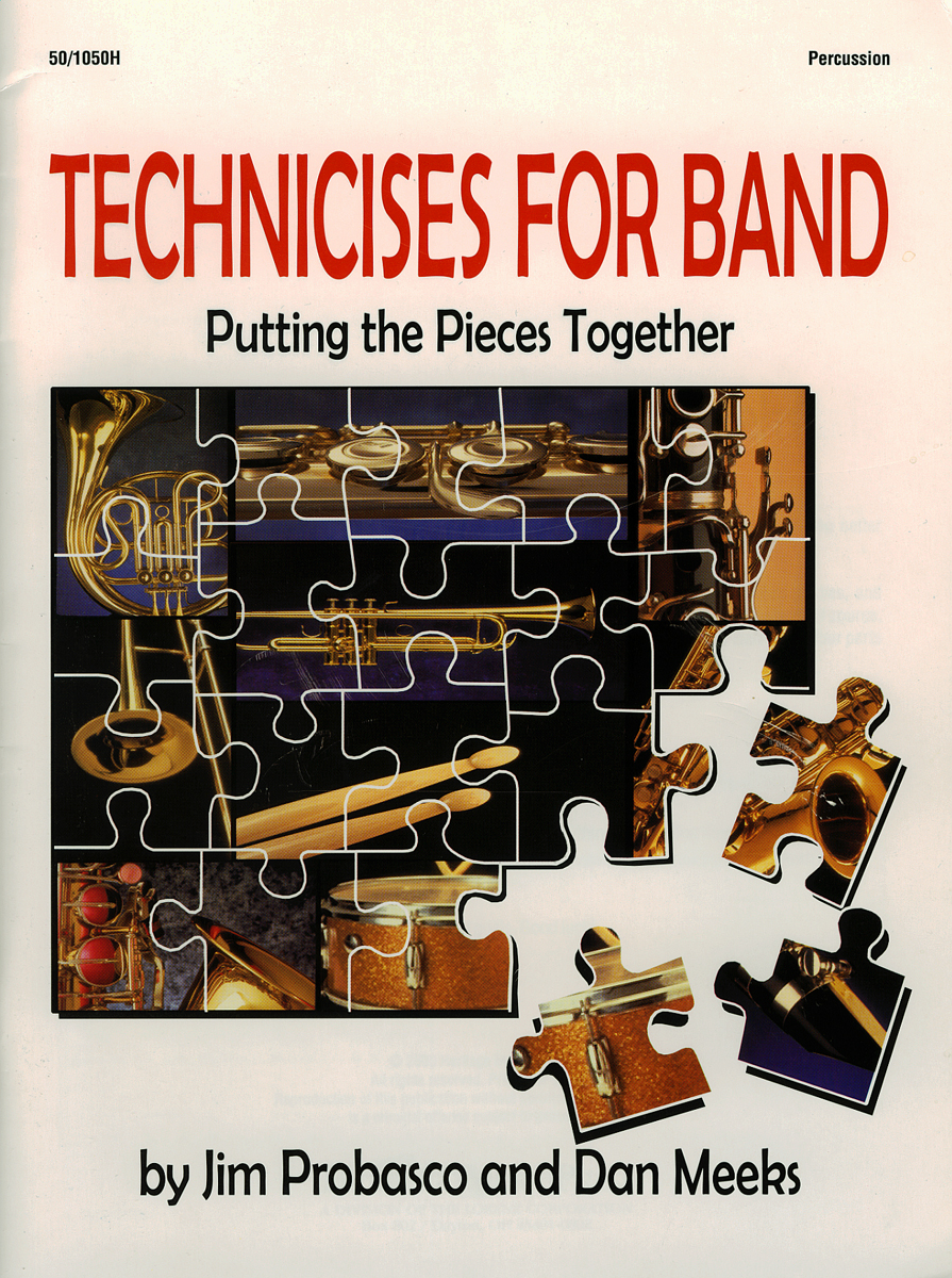 Technicises For Band Percussion