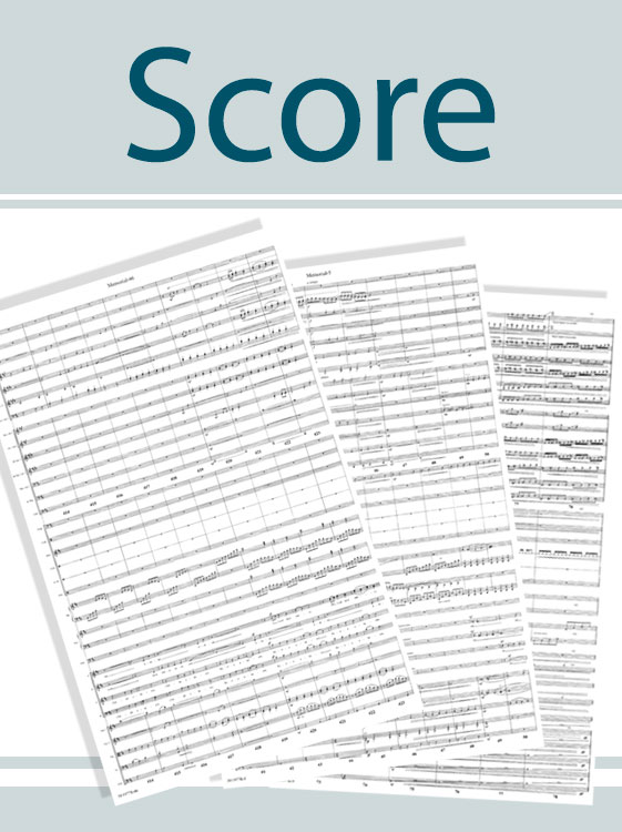 A Minor Case Of The Blues - Score